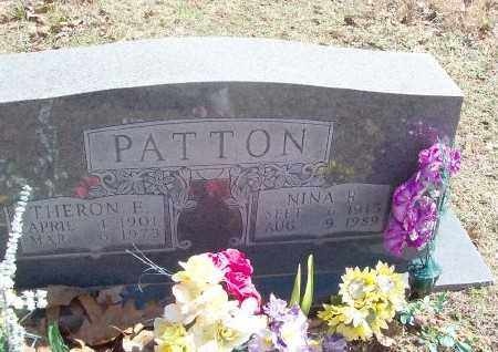 PATTON (2), NINA R. - Marion County, Arkansas | NINA R. PATTON (2) - Arkansas Gravestone Photos