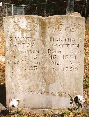 PATTON, SAMUEL - Marion County, Arkansas | SAMUEL PATTON - Arkansas Gravestone Photos