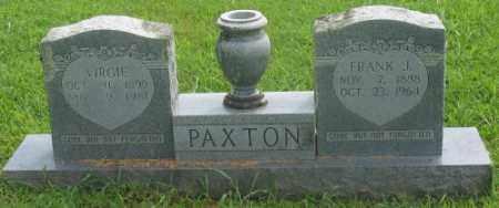 PAXTON, FRANK J. - Marion County, Arkansas | FRANK J. PAXTON - Arkansas Gravestone Photos
