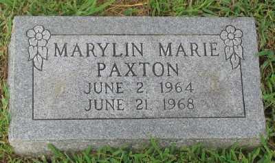 PAXTON, MARYLIN MARIE - Marion County, Arkansas | MARYLIN MARIE PAXTON - Arkansas Gravestone Photos