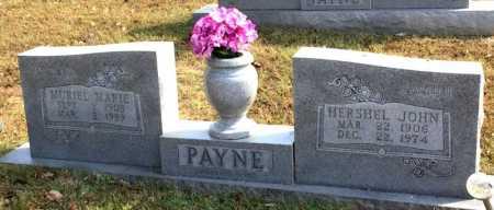PAYNE, MURIEL MARIE - Marion County, Arkansas | MURIEL MARIE PAYNE - Arkansas Gravestone Photos