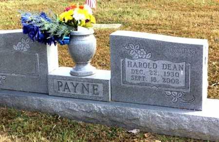 PAYNE, HAROLD DEAN - Marion County, Arkansas | HAROLD DEAN PAYNE - Arkansas Gravestone Photos