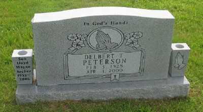 PETERSON, DELBERT T. - Marion County, Arkansas | DELBERT T. PETERSON - Arkansas Gravestone Photos