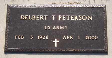 PETERSON (VETERAN), DELBERT T. - Marion County, Arkansas | DELBERT T. PETERSON (VETERAN) - Arkansas Gravestone Photos