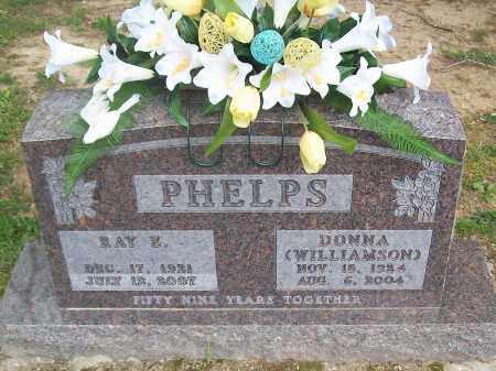 PHELPS, RAY E. - Marion County, Arkansas | RAY E. PHELPS - Arkansas Gravestone Photos
