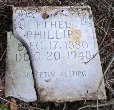 COVINGTON PHILLIPS, ETHEL - Marion County, Arkansas   ETHEL COVINGTON PHILLIPS - Arkansas Gravestone Photos