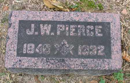 PIERCE, JAMES W. - Marion County, Arkansas | JAMES W. PIERCE - Arkansas Gravestone Photos
