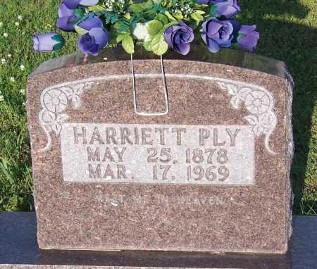 PLY, HARRIETT - Marion County, Arkansas | HARRIETT PLY - Arkansas Gravestone Photos