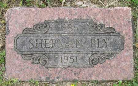 PLY (VETERAN WWI), SHERMAN - Marion County, Arkansas | SHERMAN PLY (VETERAN WWI) - Arkansas Gravestone Photos