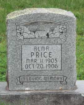 PRICE, ALMA - Marion County, Arkansas | ALMA PRICE - Arkansas Gravestone Photos