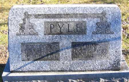 ANGEL PYLE, JULIA ANN - Marion County, Arkansas | JULIA ANN ANGEL PYLE - Arkansas Gravestone Photos