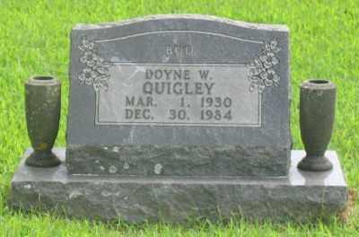 QUIGLEY, DOYLE W. - Marion County, Arkansas | DOYLE W. QUIGLEY - Arkansas Gravestone Photos