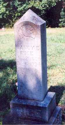 RICE, NANCY ELLENDER - Marion County, Arkansas   NANCY ELLENDER RICE - Arkansas Gravestone Photos