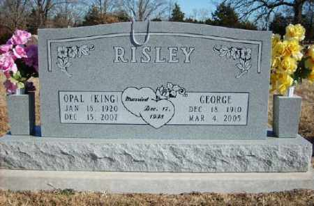 KING RISLEY, OPAL - Marion County, Arkansas | OPAL KING RISLEY - Arkansas Gravestone Photos
