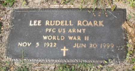 ROARK (VETERAN WWII), LEE RUDELL - Marion County, Arkansas   LEE RUDELL ROARK (VETERAN WWII) - Arkansas Gravestone Photos