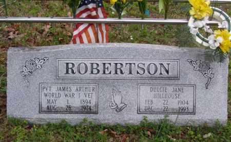 "ROBERTSON (VETERAN WWI), JAMES ARTHUR ""JIM"" - Marion County, Arkansas | JAMES ARTHUR ""JIM"" ROBERTSON (VETERAN WWI) - Arkansas Gravestone Photos"