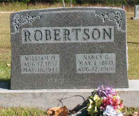 "ROBERTSON, WILLIAM MARION ""WILLIE"" - Marion County, Arkansas | WILLIAM MARION ""WILLIE"" ROBERTSON - Arkansas Gravestone Photos"