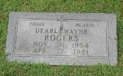 ROGERS, DEARL WAYNE - Marion County, Arkansas | DEARL WAYNE ROGERS - Arkansas Gravestone Photos