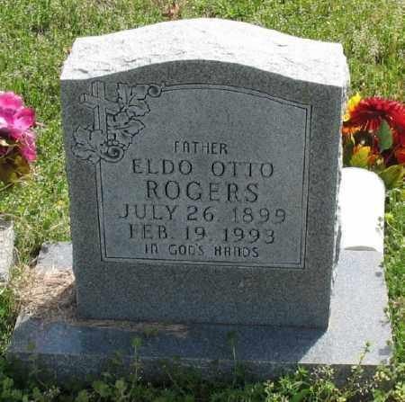 ROGERS, ELDO OTTO - Marion County, Arkansas | ELDO OTTO ROGERS - Arkansas Gravestone Photos