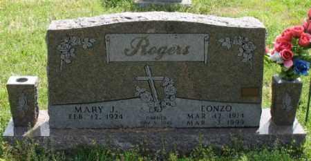 ROGERS, LONZO - Marion County, Arkansas | LONZO ROGERS - Arkansas Gravestone Photos