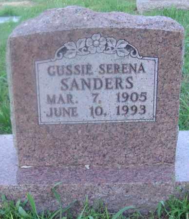 SANDERS, GUSSIE SERENA - Marion County, Arkansas | GUSSIE SERENA SANDERS - Arkansas Gravestone Photos
