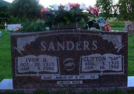 "SANDERS, CLIFTON ""SAP"" - Marion County, Arkansas | CLIFTON ""SAP"" SANDERS - Arkansas Gravestone Photos"