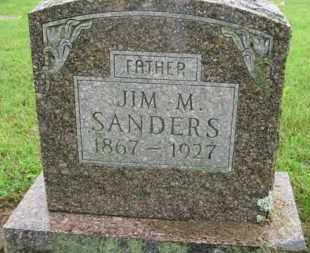 "SANDERS, JAMES MONROE ""JIM"" - Marion County, Arkansas 