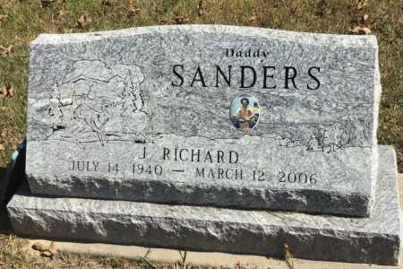 SANDERS, J. RICHARD - Marion County, Arkansas | J. RICHARD SANDERS - Arkansas Gravestone Photos