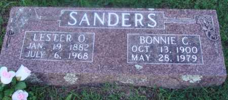 SANDERS, BONNIE  C. - Marion County, Arkansas | BONNIE  C. SANDERS - Arkansas Gravestone Photos