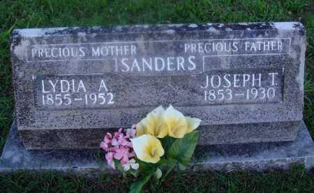 SANDERS, LYDIA A. - Marion County, Arkansas | LYDIA A. SANDERS - Arkansas Gravestone Photos