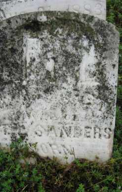RALPH SANDERS, MARGARET - Marion County, Arkansas | MARGARET RALPH SANDERS - Arkansas Gravestone Photos