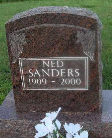 SANDERS, NED - Marion County, Arkansas | NED SANDERS - Arkansas Gravestone Photos