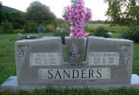 SANDERS, NEVAH IDA - Marion County, Arkansas   NEVAH IDA SANDERS - Arkansas Gravestone Photos