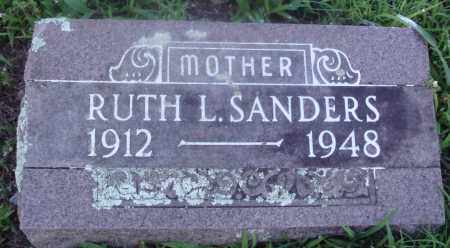 SANDERS, RUTH - Marion County, Arkansas | RUTH SANDERS - Arkansas Gravestone Photos