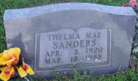SANDERS, THELMA MAE - Marion County, Arkansas | THELMA MAE SANDERS - Arkansas Gravestone Photos