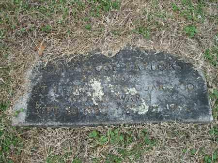 SAYLORS (VETERAN WWI), JOHN MOSE - Marion County, Arkansas | JOHN MOSE SAYLORS (VETERAN WWI) - Arkansas Gravestone Photos