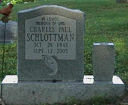 SCHLOTTMAN, CHARLES PAUL - Marion County, Arkansas | CHARLES PAUL SCHLOTTMAN - Arkansas Gravestone Photos