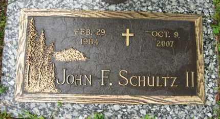 SCHULTZ, II, JOHN F. - Marion County, Arkansas | JOHN F. SCHULTZ, II - Arkansas Gravestone Photos