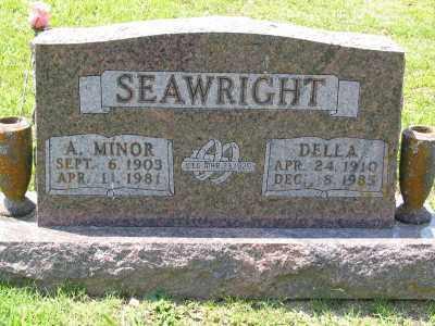 SEAWRIGHT, DELLA - Marion County, Arkansas | DELLA SEAWRIGHT - Arkansas Gravestone Photos