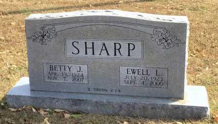 SHARP (VETERAN WWII), EWELL L - Marion County, Arkansas | EWELL L SHARP (VETERAN WWII) - Arkansas Gravestone Photos