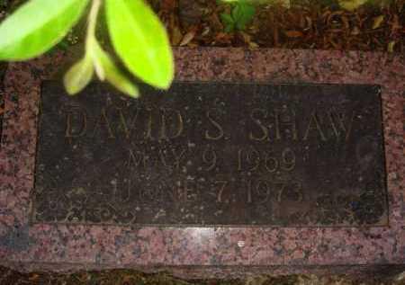 SHAW, DAVID S. - Marion County, Arkansas | DAVID S. SHAW - Arkansas Gravestone Photos