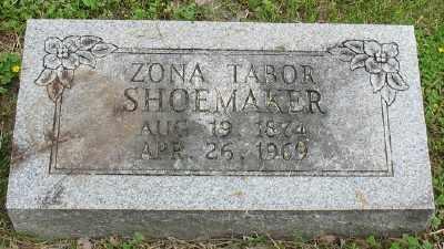 SHOEMAKER, ZONA - Marion County, Arkansas | ZONA SHOEMAKER - Arkansas Gravestone Photos