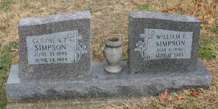 SIMPSON, GOLDIE V. F. - Marion County, Arkansas | GOLDIE V. F. SIMPSON - Arkansas Gravestone Photos