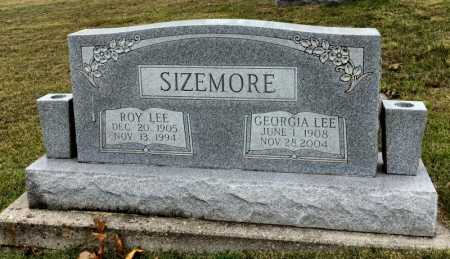 DAVIS SIZEMORE, GEORGIA LEE - Marion County, Arkansas   GEORGIA LEE DAVIS SIZEMORE - Arkansas Gravestone Photos