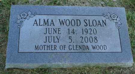 SLOAN, ALMA - Marion County, Arkansas | ALMA SLOAN - Arkansas Gravestone Photos