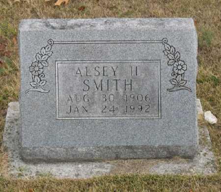 SMITH, ALSEY H. - Marion County, Arkansas | ALSEY H. SMITH - Arkansas Gravestone Photos