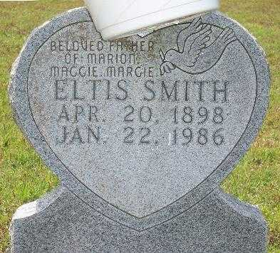 SMITH, ELTIS - Marion County, Arkansas   ELTIS SMITH - Arkansas Gravestone Photos