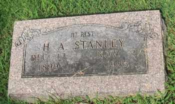 STANLEY, H. A. - Marion County, Arkansas | H. A. STANLEY - Arkansas Gravestone Photos