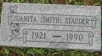 SMITH STAUDER, GWENDOLYN JUANITA - Marion County, Arkansas | GWENDOLYN JUANITA SMITH STAUDER - Arkansas Gravestone Photos