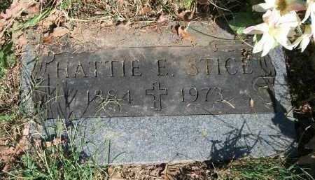 FORD STICE, HATTIE ELIZABETH - Marion County, Arkansas | HATTIE ELIZABETH FORD STICE - Arkansas Gravestone Photos